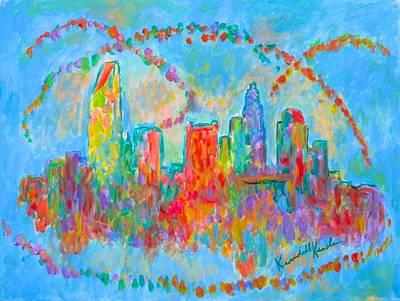 Painting - Charlotte Spiral by Kendall Kessler