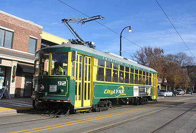 Photograph - Charlotte Street Car 10 by Joseph C Hinson Photography