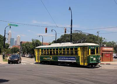 Photograph - Charlotte Streetcar 10 by Joseph C Hinson Photography