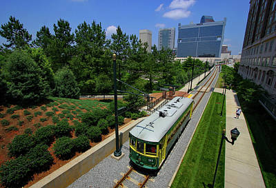 Photograph - Charlotte Trolley 2005 A by Joseph C Hinson Photography