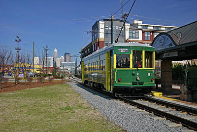 Photograph - Charlotte Trolley 2005 B by Joseph C Hinson Photography