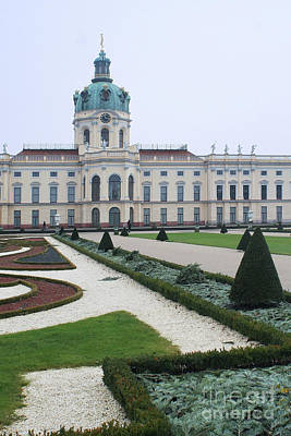 Photograph - Charlottenburg Castle Berlin by Rudi Prott
