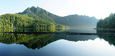 Queen Charlotte Islands Photograph - Charlottes Panorama by Christian Heeb