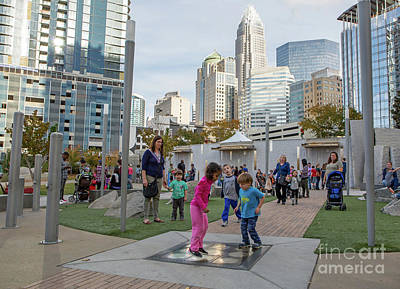 Photograph - Charlotte's Romare Bearden Park by Kevin McCarthy