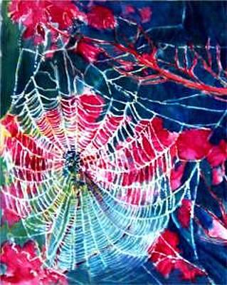 Painting - Charlotte's Web by Charlotte Bailey Rierson