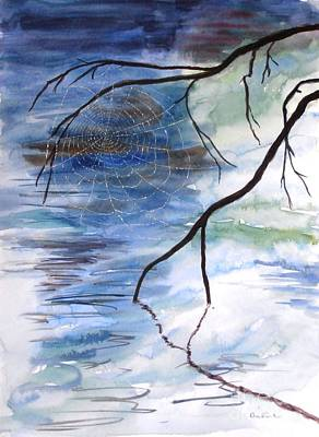 Painting - Charlotte's Web by Diane Kirk