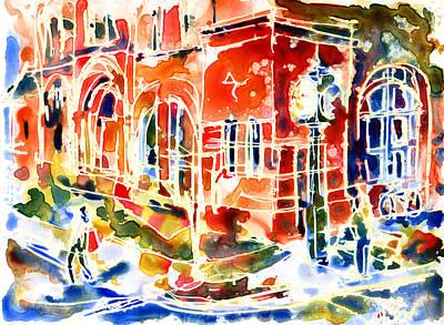 Charlottetown City Hall Art Print by Yevgenia Watts