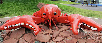 Photograph - Charlottetown Lobster by Randall Weidner
