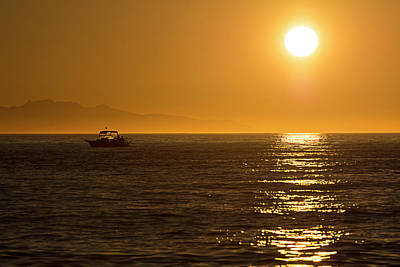 Photograph - Charm Of A Sunset by Sabine Edrissi