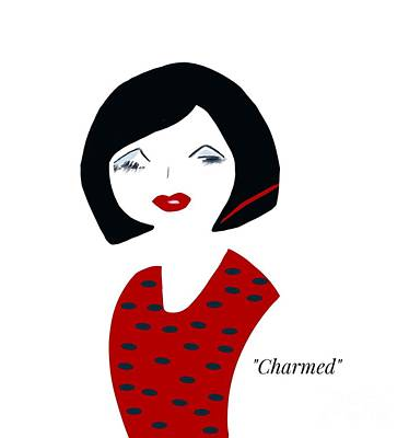 Photograph - Charmed Illustration by Susan Garren