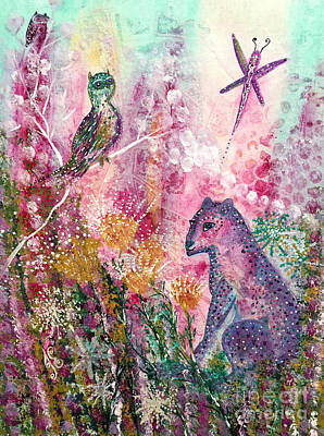 Painting - Charmed by Julie Engelhardt