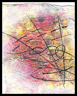 Mixed Media - Charmed Particles by Cyndi Lavin