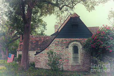 Photograph - Charming Florida Brick Home by Dale Powell