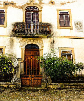 Art Print featuring the photograph Charming House In Portugal by Marion McCristall