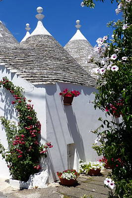 Photograph - Charming Trulli by Carla Parris