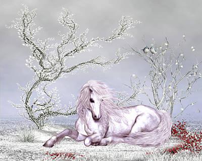 Animals Digital Art - Charming Unicorn  by John Junek