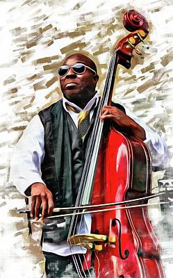 Photograph - Charnett On Red Bass by Alice Gipson