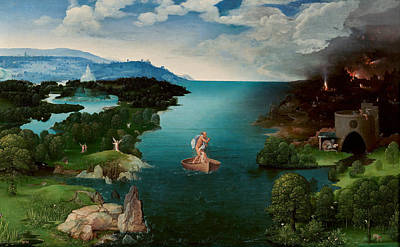 Charon Painting - Charon Crossing The Styx by Joachim Patinir
