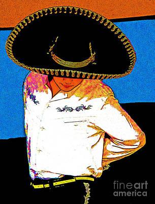 Mexican Dance Digital Art - Charro by Kimberley Joy Ferren