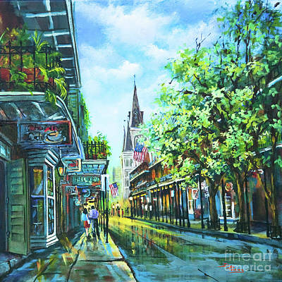 New Orleans French Quarter Wall Art - Painting - Chartres Afternoon by Dianne Parks