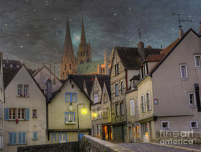 Chartre Photograph - Chartres France by Juli Scalzi