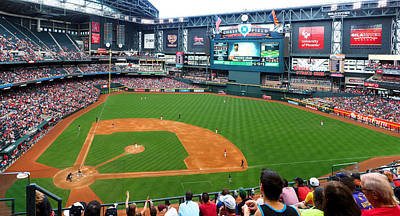 Photograph - Chase Field 2015 2 by C H Apperson
