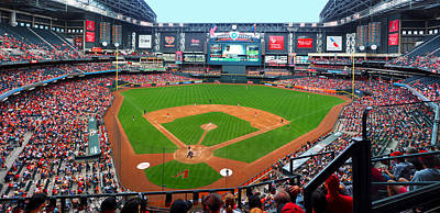 Photograph - Chase Field 2015 by C H Apperson