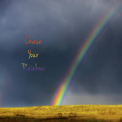 Photograph - Chase Your Rainbow by Amanda Smith