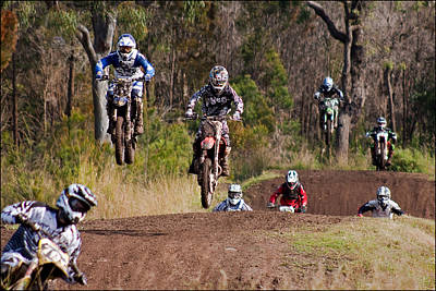 Port Macquarie Photograph - Chasing 701 by Dennis Gay