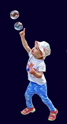 Photograph - Chasing Bubbles by Ian  MacDonald