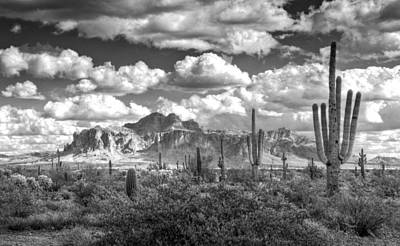 Photograph - Chasing Clouds In Black And White  by Saija  Lehtonen