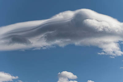 Photograph - Chasing Lenticulars 3 - by Julie Weber