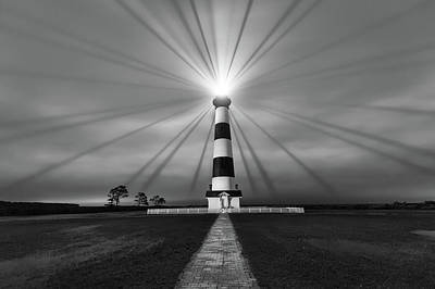 Photograph - Chasing Light by Bernard Chen