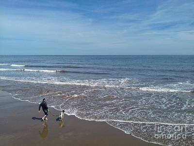 Photograph - Chasing The Tide by Joan-Violet Stretch