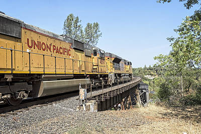 Photograph - Chasing Up8968 Into The Sierra's by Jim Thompson