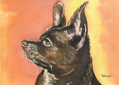 Chihuahua Painting - Chaska by Marsha Elliott