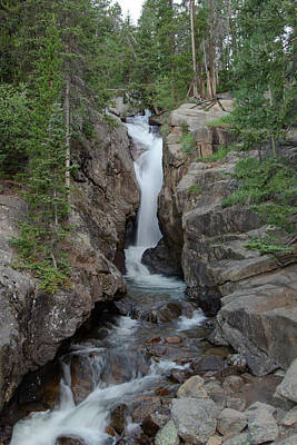 Photograph - Chasm Falls 2 by Sean Allen