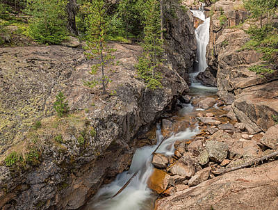 Photograph - Chasm Falls by Loree Johnson