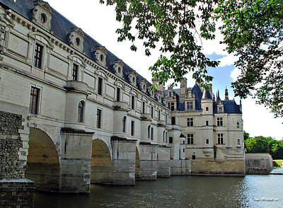 Photograph - Chateau Chenonceau by Joan  Minchak