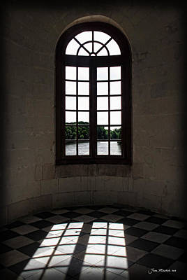 Photograph - Chateau Chenonceau Window by Joan  Minchak