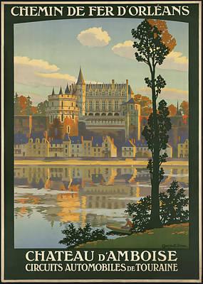 Chateau D' Amboise Art Print by David Wagner