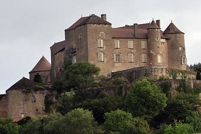Photograph - Chateau De Berze by Harvey Barrison