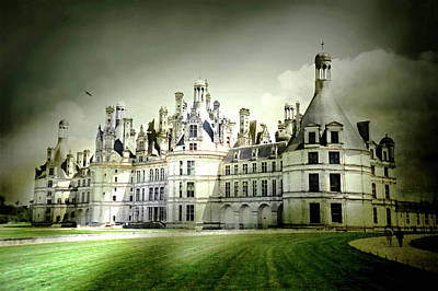 Photograph - Chateau De Chambord by Diana Angstadt