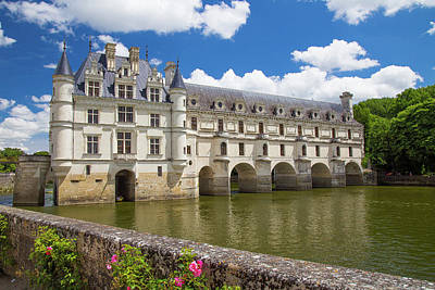 Chateau Chenonceau Photograph - Chateau De Chenonceau In France by Lowell Monke