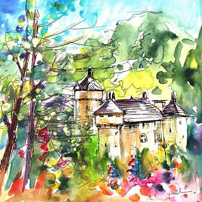 Painting - Chateau De La Caze by Miki De Goodaboom