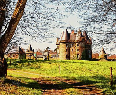 Photograph - Chateau De Landale by Elf EVANS