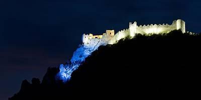 Photograph - Chateau De Puilaurens by Stephen Taylor