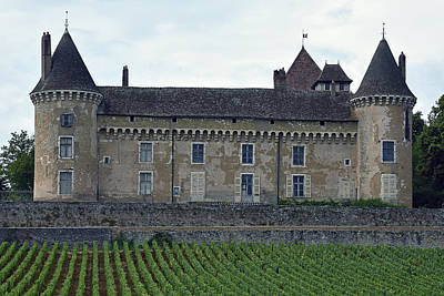 Photograph - Chateau De Rully by Harvey Barrison