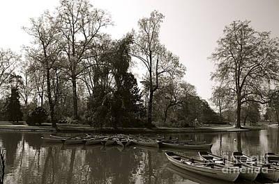 Photograph - Chateau De Vincennes II by Louise Fahy