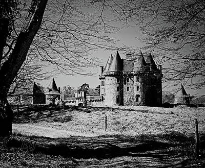Photograph - Chateau Du Landale by Elf Evans